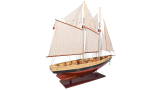 Miniatuur boot Bluenose II AS138 | Authentic Models