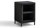 Hocker - Denim 19 300 + Glasplaat
