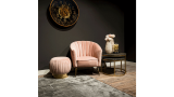 Pouffe S4428 Pink Faye | Richmond Interiors