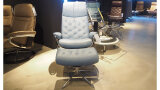 Relaxfauteuil + hocker Metro - Outlet