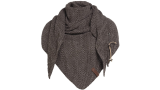 Omslagdoek bruin/taupe Coco