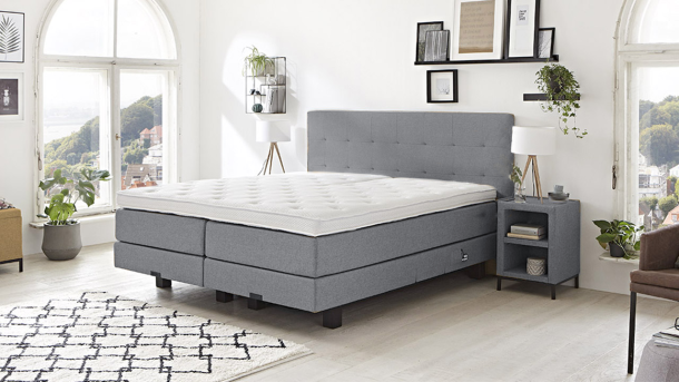 Boxspring Caprice - Denim 23 1200