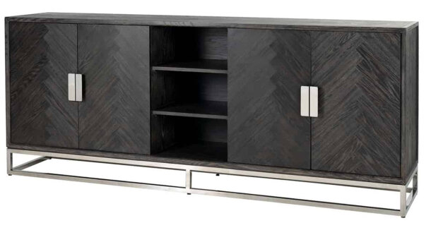 Dressoir 7416 Blackbone zilver | Richmond Interiors