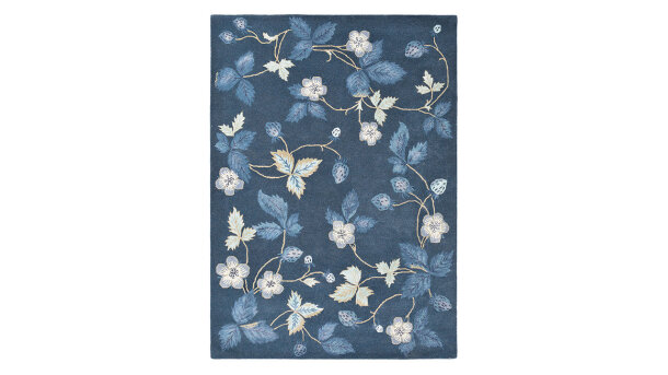 Vloerkleed Navy 38118 Wild Strawberry