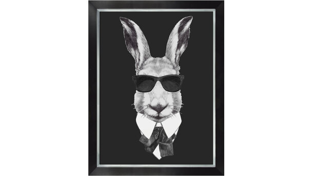 Schilderij Rabbit in suit | MondiArt
