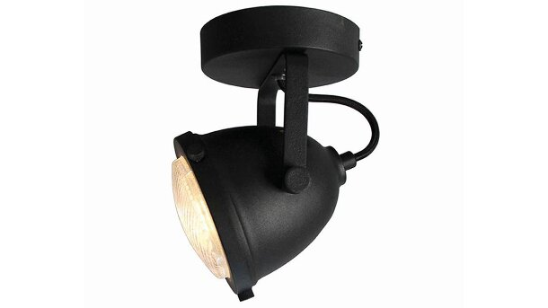 LED spot zwart Moto | LABEL51