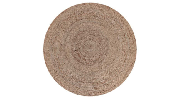 Vloerkleed rond naturel Jute | LABEL51