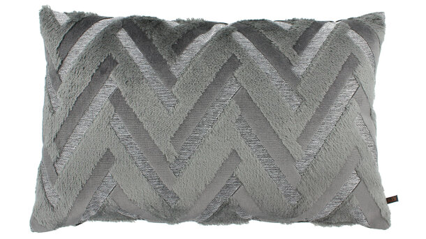 Sierkussen Grey Chevron | Claudi Chique