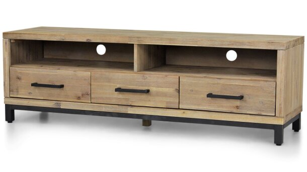 Tv-dressoir BM-0207 met 3 laden Trego Toff
