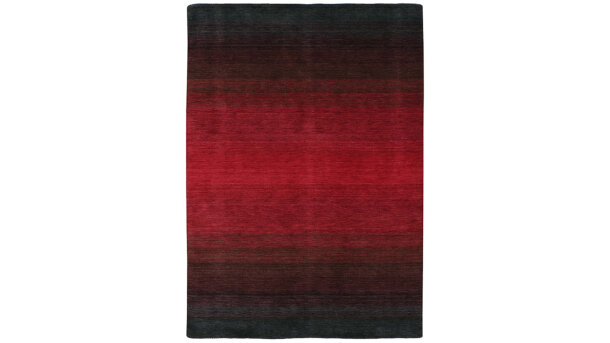 Vloerkleed black/red Panorama | Momo Rugs