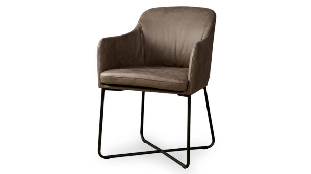 Eetfauteuil middle grey NC0106 Albufera Sidd