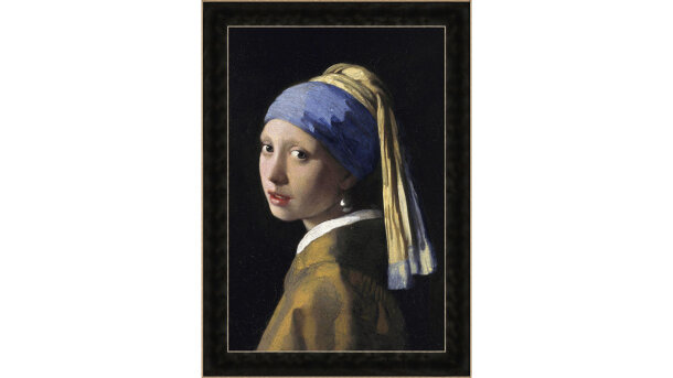 Schilderij Girl with the Pearl | MondiArt