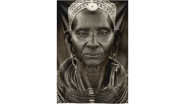 Wandkleed Samburu Woman