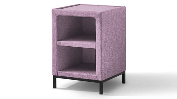 Hocker 300 + Glasplaat