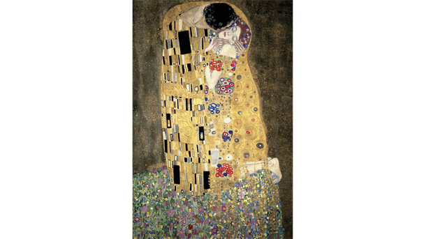 Schilderij The Kiss - klimt | MondiArt