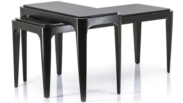 Salontafel Set Wayne - Black | 191660 | By-Boo