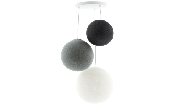 Hanglamp Deluxe Shades of Grey