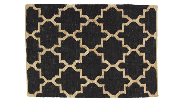 Vloerkleed Black-Natural Token | Brinker Carpets Festival