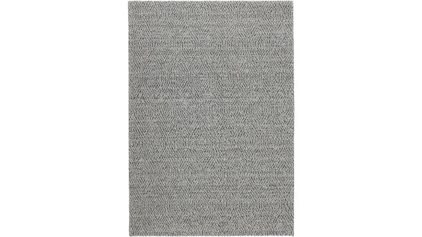 Vloerkleed - black Shade of Herringbone | Momo Rugs