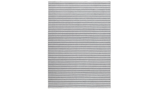 Vloerkleed silver/dark grey Nouveau Stripes