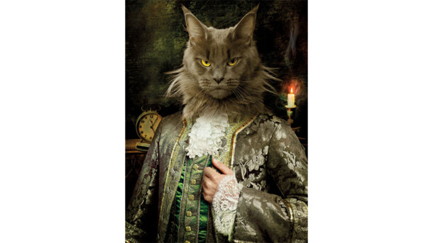 Schilderij Royal Cat