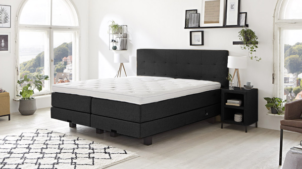Boxspring Caprice - Denim 19 1200