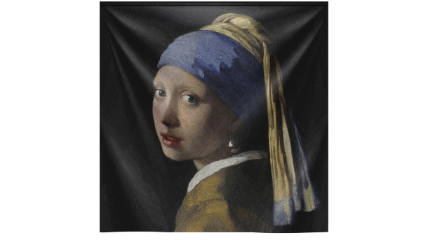 Wandkleed Girl with the Pearl Earring