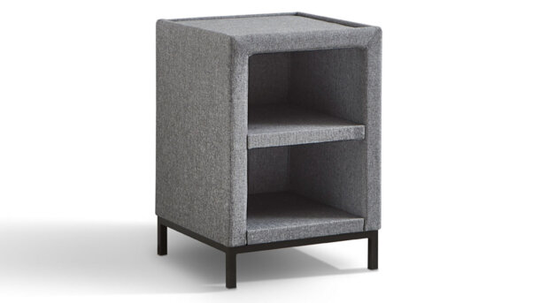 Hocker - Denim 23 300 + Glasplaat