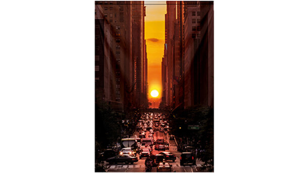 Wandkleed Manhattanhenge, New York
