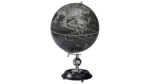 Globe Vaugondy 1745 Noir GL041 | Authentic Models