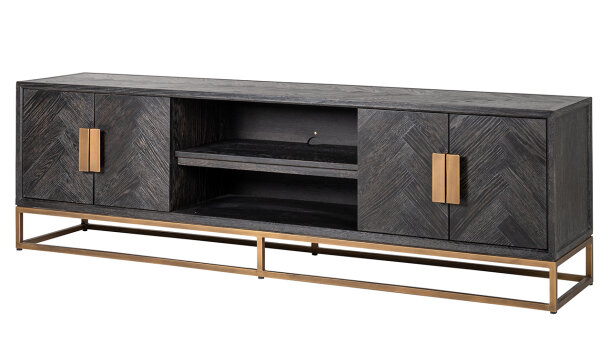 Tv-dressoir 7374 Blackbone Brass | Richmond Interiors