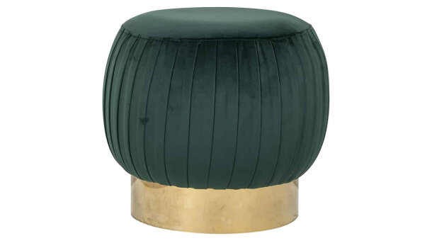 Pouffe S4428 Green Faye | Richmond Interiors