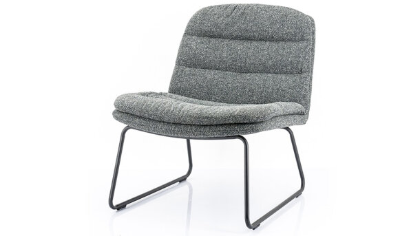 Fauteuil - antraciet 210033 Bermo | By-Boo
