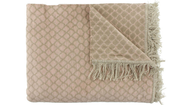 Plaid Nude Taupe Colly | Claudi Chique