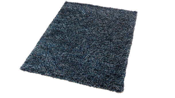Vloerkleed Teal Blue Angora | Brinker Carpets
