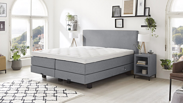 Boxspring Lima - Denim 23 1200
