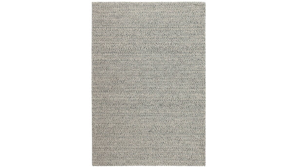 Vloerkleed - silver Shade of Herringbone | Momo Rugs