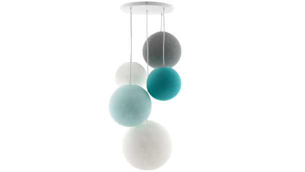 Hanglamp Deluxe 5 Sea Breeze
