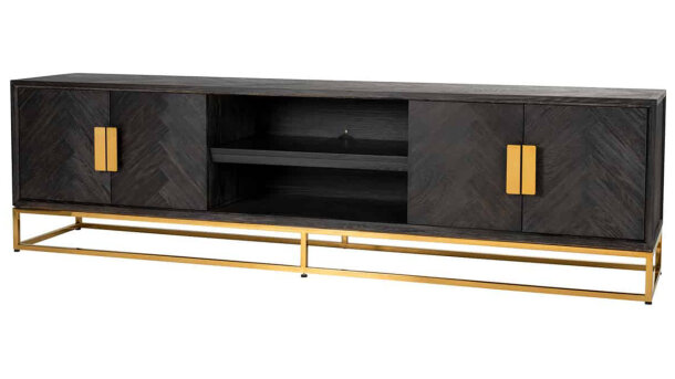 Tv-dressoir 7445 Blackbone goud | Richmond Interiors