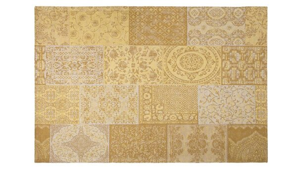 Vloerkleed Honey Yellow Output | Brinker Carpets Festival