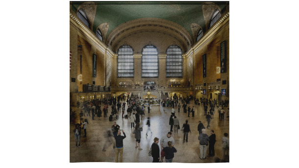 Wandkleed Main Hall Grand Central NY