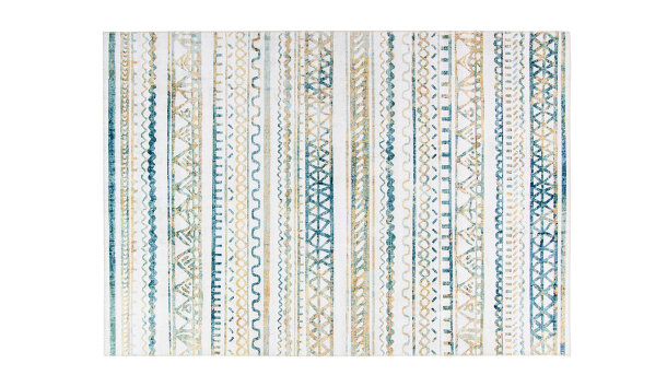 Vloerkleed Blue Arabesque | Brinker Carpets Festival
