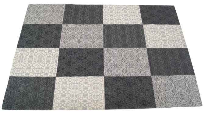 Vloerkleed - grey Love | Brinker Carpets