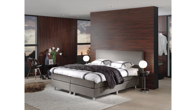 Boxspring Solis beige/taupe