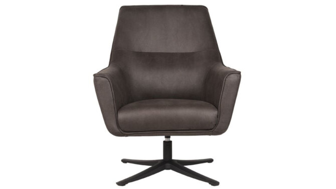 Fauteuil Antraciet Tod