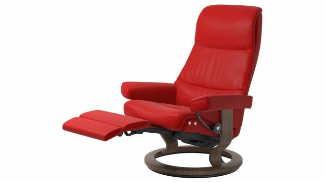 Relax Fauteuil Rood.Relaxfauteuil View Legcomfort Stressless
