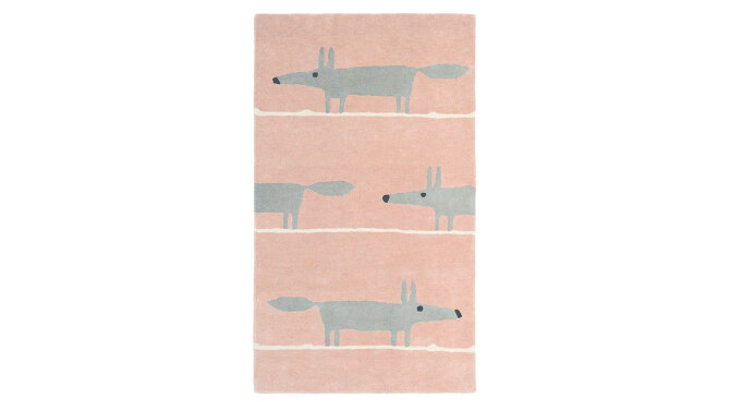 Vloerkleed 25302 mr Fox | Scion Rug Collection
