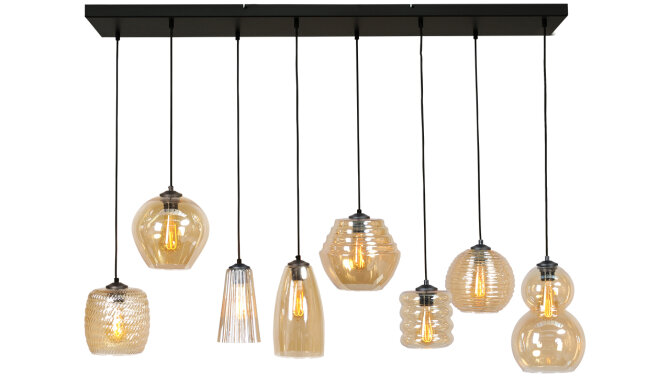 Hanglamp Amber 2261-05-130-25-8-14 Quinto
