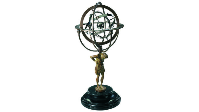 Beeld Atlas Armillary GL051 | Authentic Models