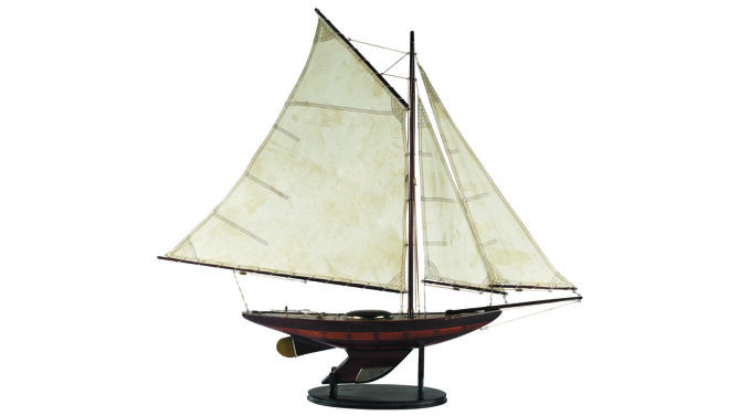 Miniatuur boot Yacht Ironsides AS167   Authentic Models